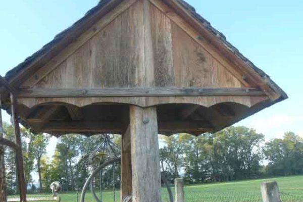 Pozzo in legno - componenti d'arredo